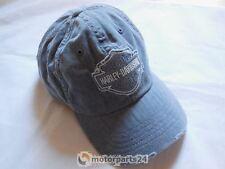 Harley Davidson Frayed Bar & Shield Logo B&S Baseball Cap Kappe 99414-16VM