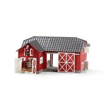 Large Red Barn with Black Angus by Schleich 72102 Stunning  strong tough <><
