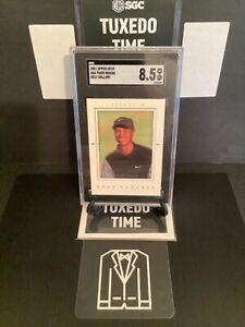 "2001 UPPER DECK GG4 Tiger Woods ""Golf Gallery"" Rookie Card SGC 8.5 NM-MT ⭐️"