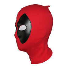 Deadpool Cosplay Mask Balaclava X-Men Costume Halloween Hood Leather