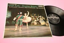 VON KARAJAN LP TCHAIKOVSKY SWAN LAKE ORIG UK STEREO 1965 EX TOP CLASSICA