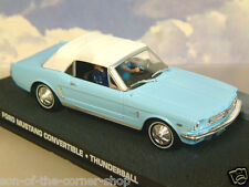 DIECAST 1/43 JAMES BOND 007 FORD MUSTANG CONVERTABLE FROM THUNDERBALL PALE BLUE