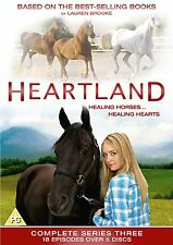 HEARTLAND 3 Complete Third Series DVD Box Set Lauren Brooks 15 hours 5 DVDS
