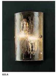 Murano Glass Wall Sconce  La Murrina Topazio 825A gold  Original Italy Venetian