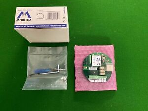 Mobotix MX-OPT-IO1, Erweiterte Anschlussplatine (IO-Modul), NEU, Händler
