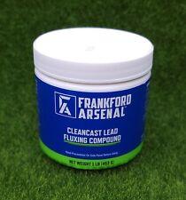 Frankford Arsenal 1lb CleanCast Lead Fluxing Compound Case Casting - 441888