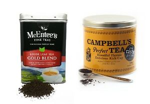 McEntee's Breakfast Blend Loose Tin 500g & Campbell's Perfect Tea500g-Twin Pack