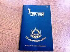 2021 Michigan & NW Ohio Tee Time coupon discount book
