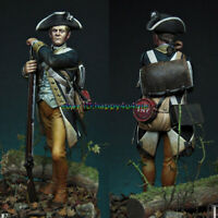 75mm Gunnentell Private regiment Soldier Figure Model Unpainted Garage Kits NEW