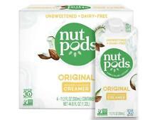 nutpods Original, Unsweetened Dairy-Free Creamer, Whole30, Paleo, Keto, Non-GMO