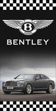 BENTLEY AUTO DEALER VERTICAL AVENUE POLE BANNER SIGNS
