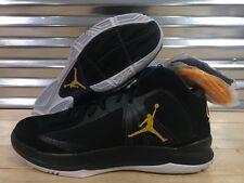 91e31bc096c4 Nike Air Jordan Aero Flight Cal Bears PE LE Black Gold SZ 13.5 ( 548952-