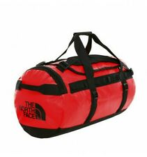 """🎒 NORTH FACE BASE MEDIUM RED DUFFLE BAG NWT MSRP $110 """"STAY SAFE"""" 😷 🎒 😷 🎒"""