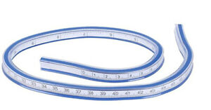 Flexi Rule Flexible French Curve Drafting Ruler Technical Drawing Tool 50cm Long