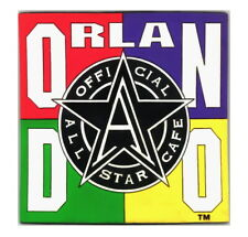 Official All Star Cafe Orlando Magnet 1995 Laser-Cut Vinyl, Sports Restaurant