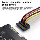 1 to 5 SATA 15Pin Power Splitter Cable Molex 4Pin IDE to 15Pin Hard Drive for sale