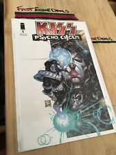 1997 KISS PSYCHO CIRCUS COMIC BOOK ISSUE 6 IMAGE COMICS FIRST PRINTING NEW!