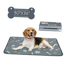 """Washable Dog Pee Pads, Waterproof Reusable Puppy Pad, Super 30""""x36"""", 2 Pack"""
