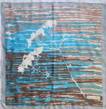 -Superbe Foulard CHRISTIAN DIOR  soie TBEG  vintage  76 x 77 cm