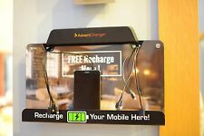 kidigi J-Mount Wall Mounted 8 Port charging station, Used Once-Add your own logo