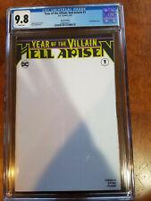 YEAR OF THE VILLAIN:HELL ARISEN #1 CGC 9.8 DC  COMICS COMIC LOT SKETCH EDITION