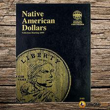 Native American Dollar Starting 2009 Folder #3163