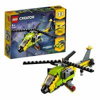 LEGO 31092 Creator 3-IN-1 Model Helicopter Adventure Power Boat And Glider Plane