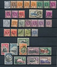 CEYLON, 1912-30s George V collection with 1935 to 1Rupee, cat £53