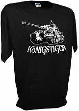 Konigstiger King Tiger Panzer World of Tanks Army Ww2 1/35 Scale Rc Model Tee