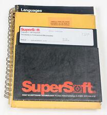 "SOFTWARE - SUPERSSOFT BASIC LANGUAGE BOOK + 8"" DISC"