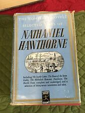 The Complete Novels Selected Tales of Nathaniel Hawthorne Modern Library 1937