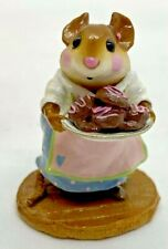 """RARE RETIRED Wee Forest Folk 1999 M-246 """"Sugar and Spice"""" (Chocolate Cookies)"""