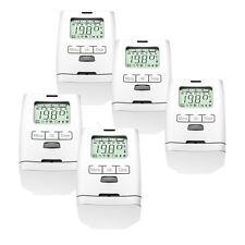 5er Set Elektronischer Heizkörperthermostat Thermostat Thermostatventil HT 2000