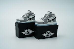 Gray Shoe Box AirPod 1/2 Case AirPods Pro Case Sneaker Silicone Shoe Case