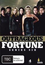 Outrageous Fortune - Season 6 (DVD, 4 Disc Set) R4 Series