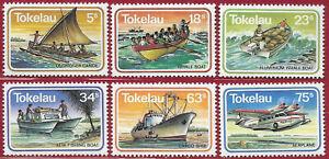 Tokelau 1983 Set [6] Sea Transport sg 91-6 MNH