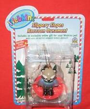 NEW WEBKINZ ORNAMENT RACOON SLIPPERY SLOPE NEW W CODE