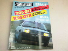 L AUTO JOURNAL - N° 4  - ANNEE  1984  *
