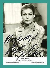 JUDY WINTER | Schauspielerin | Original-Autogramm auf Starkarte