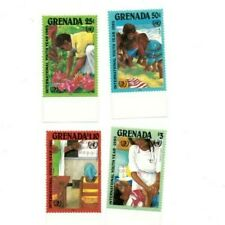 Grenada - 1985 - International Youth Year - Set Of 4 Stamps - Mnh