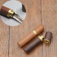 Leder Handwerk Nähen Nadeln Fall Box DIY Handstich Nadel Halter Container #J