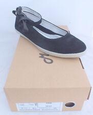 chaussures femme ballerines Mascaret Rose daim souliers women shoes neuf 71 €