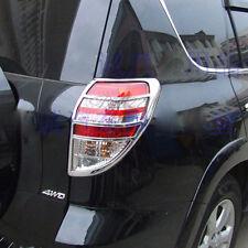 For TOYOTA RAV4 RAV 4 2009-2011 New ABS Chrome Rear Tail Light Lamp Cover Trim