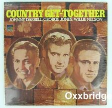 SEALED GEORGE JONES Willie Nelson JOHNNY DARRELL Country Get-Together ORIGINAL