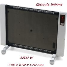 Digitale Wärmewelle incl. Fernbedienung Infrarot Heizgerät Heizung 2500W Syntrox