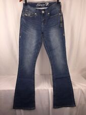 Seven 7 Women's Boot Cut Jeans Size: 6 NWT Mid Rise stretch  MSRP $74.00