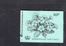 Great Britain 50p Primrose Flowers Machin May 1971 Booklet SG  DT2