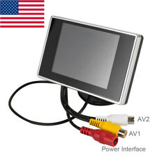US Mini 3.5 inch TFT LCD Color Screen Car Rearview Monitor Camera for Car Backup