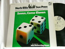 HERB ELLIS & JOE PASS Seven Come Eleven Ray Brown Jake Hanna LP