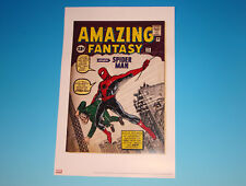 Amazing Fantasy #15 Lithograph Marvel Comics Jack Kirby Limited Edition Print